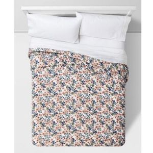 Full/Queen Floral Printed Family Quilt Bedding